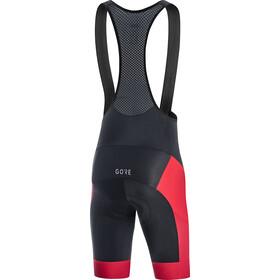GORE WEAR C3+ Line Brand Cykelbukser Herrer, black/red